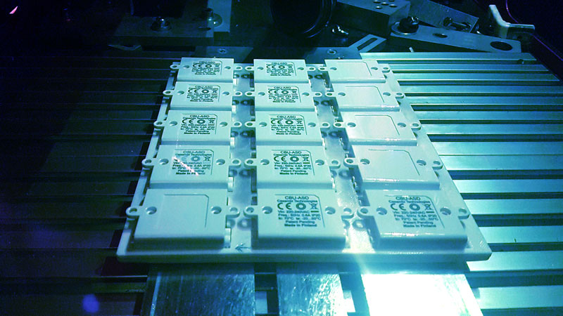 Muovisola Oy - Post-processing, Laser marking, Pad printing, Assembly, Ultrasonic welding - Plastic products manufacturing